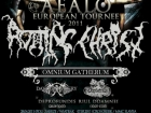 European tour 2011 with Rotting Christ