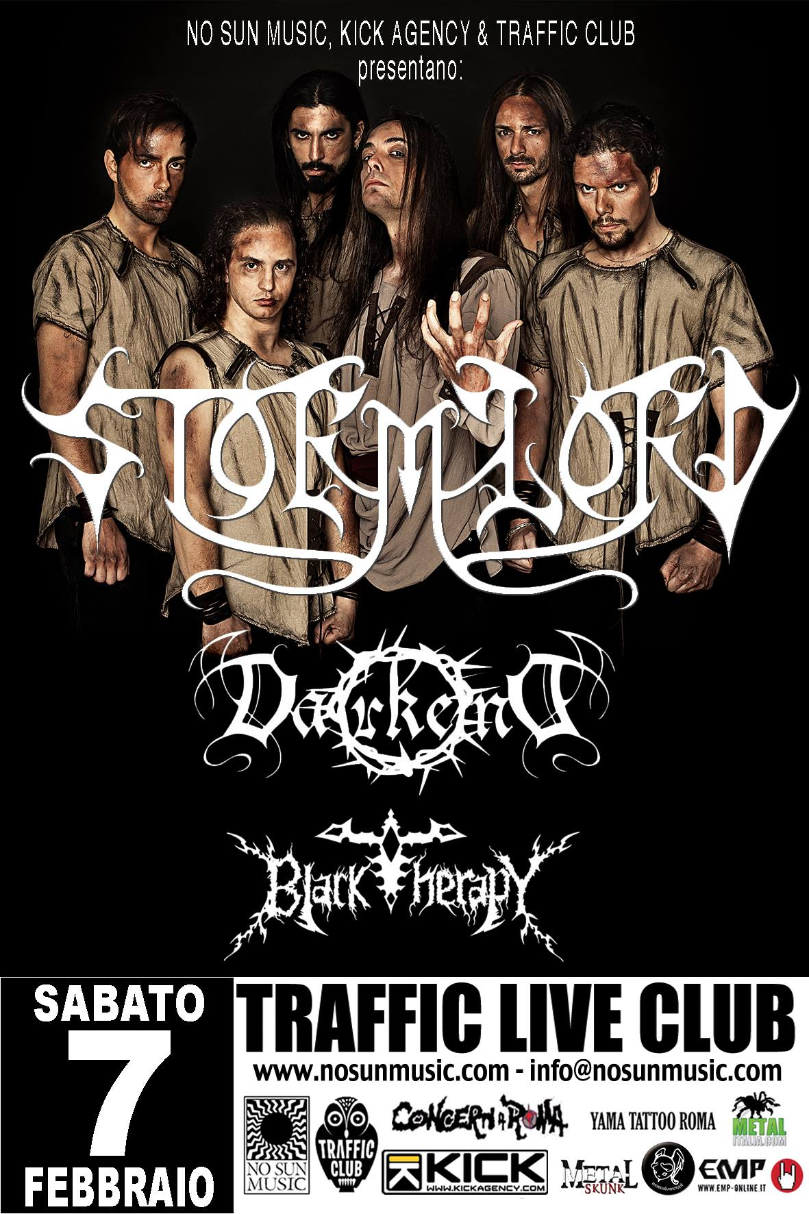 Live Show - STORMLORD + DARKEND + BLACK THERAPY