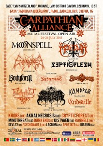 Carpathian Alliance 2015