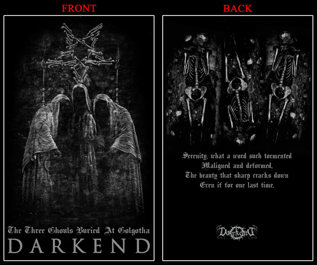 """The Three Ghouls Buried At Golgotha"" T-Shirt"